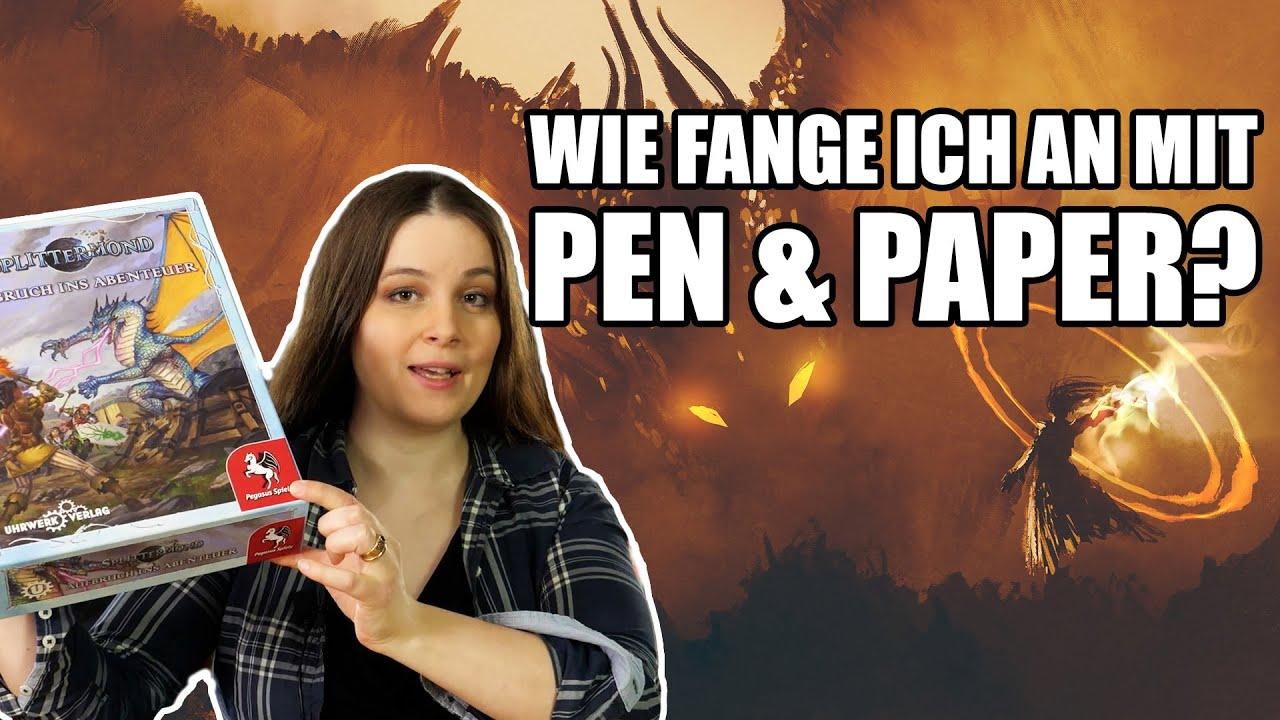 Download Der Einstieg ins Pen and Paper Rollenspiel - Wie fange ich an?