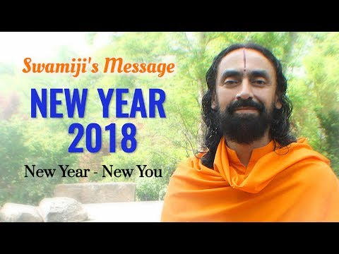 New Year Message 2018 by Swami Mukundananda - New Year New You 2018
