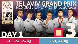 Judo Grand-Prix Tel Aviv 2020 - Day 1:  Elimination Tatami 3