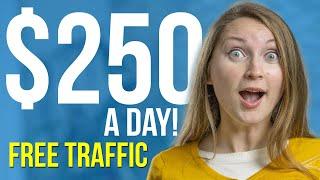 How to Make Money on Pinterest: 3 Ways I make $250/day With Free Pinterest Traffic (2020)