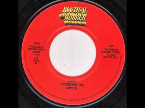 """Horace """"Lawyer"""" Martin - Unity + Dub - 7"""" Rootical Dubber RE 1976 - HEAVY CONSCIOUS ROOTS REGGAE"""