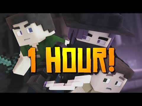 """Starless Night"" [1 HOUR] - A Minecraft Original Music Video / Song"