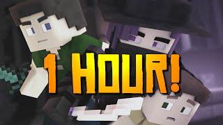 """Starless Night"" [1 HOUR] - A Minecraft Original Music Video / Song"