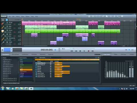 My first music using MAGIX Music Maker 17