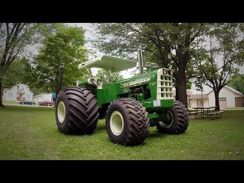 Supercharged 1965 Oliver 4x4 Tractor w/ Monster Truck Tires