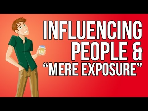 Mere Exposure Effect by MEE COMPANY from YouTube · Duration:  7 minutes 6 seconds