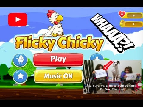 Kids Playing Flicky Chicky Game