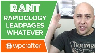 Rapidology Plugin Review, LeadPages RIPOFF, & The GPL - Warning RANT
