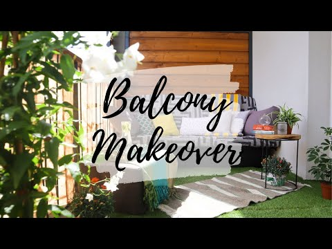 EXTREME BALCONY MAKEOVER!  |  **How To: DIY Balcony Decoration**  Reva Inspiration