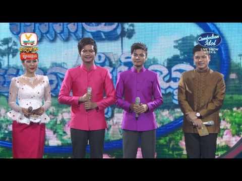 Cambodian Idol | Live show | Week 06 | សៅ ឧត្ដម - ម៉ៅ ហាជី | កឋិនវត្តយើង