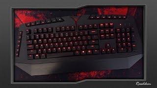 Lenovo Y Gaming - Klawiatura mechaniczna z czerwonymi ledami