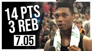 Lonnie Walker IV Full Coverage Spurs vs Grizzlies Summer League | 7.05.18 | 14 Pts, 3 Reb, 2 Ast