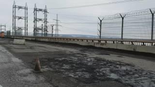 Ремонт дороги ГЕС Тольятті 2 березня 2017 р. Пробка до Жигулевска.
