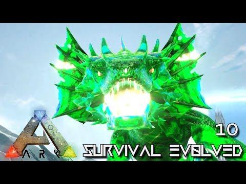 ARK: SURVIVAL EVOLVED - K.O. KING WYVERN POISON ELEMENTAL !!!   ARK EXTINCTION ETERNAL E10
