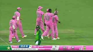 South Africa v Pakistan | 2nd ODI | Fakhar Zaman's controversial run out