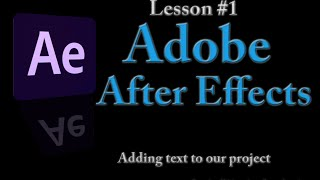 Dark Effects Lessons for After Effects Series II