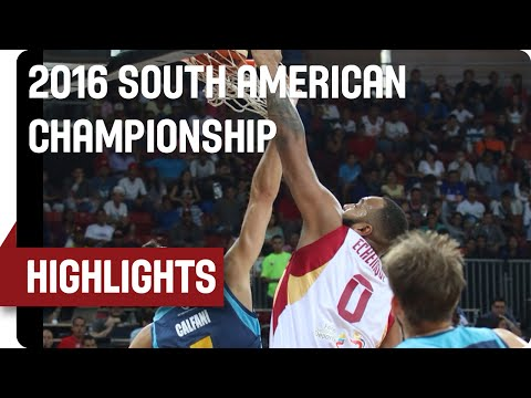Venezuela v Uruguay - Game Highlights - Semifinal - 2016 FIBA South American Championship