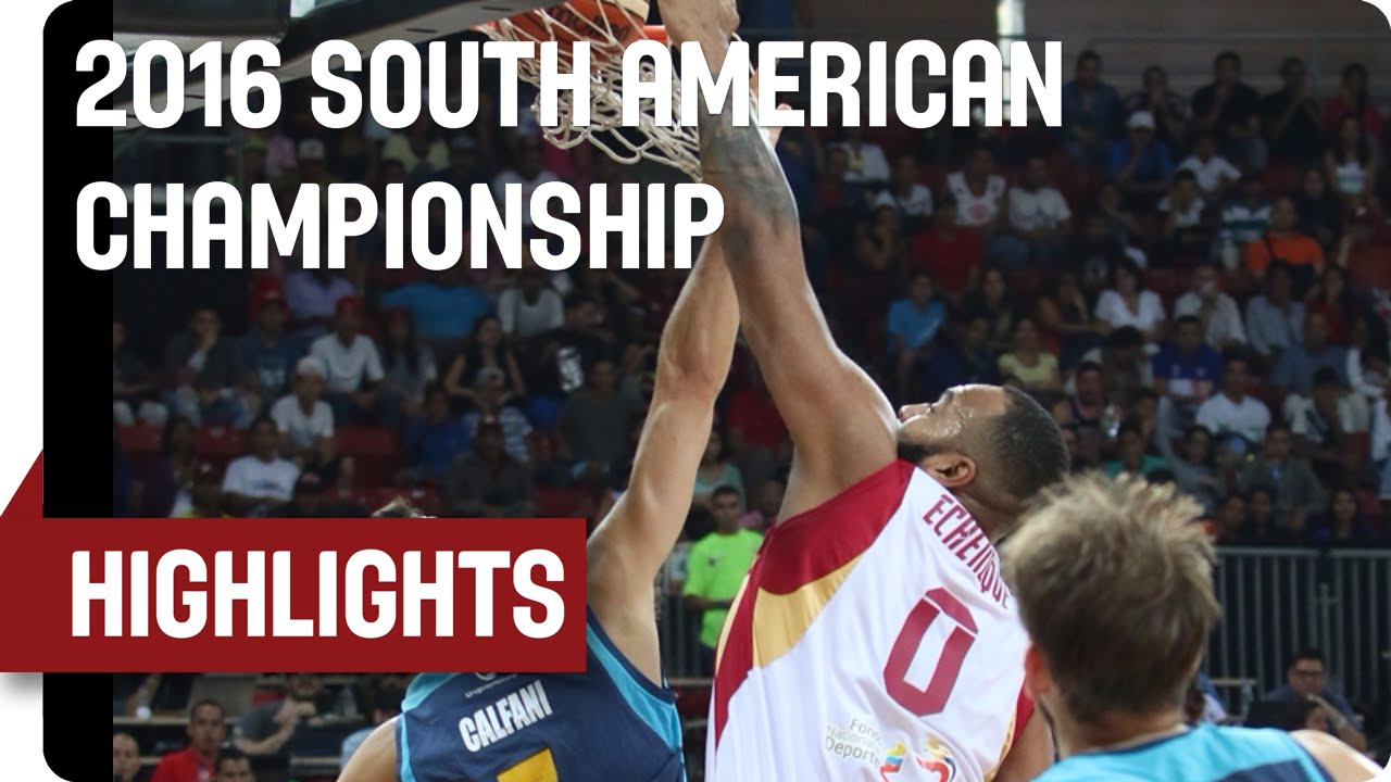 Venezuela v Uruguay - Game Highlights - Semifinal - 2016 FIBA South American Championship