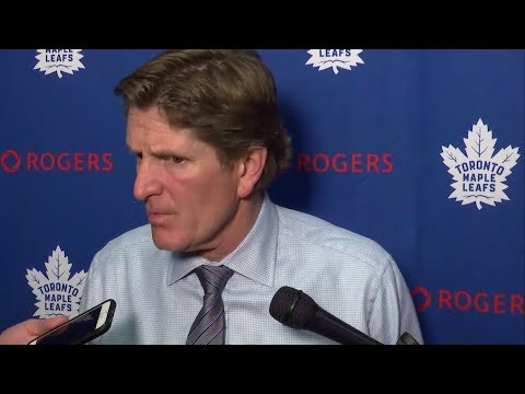 Maple Leafs Post-Game: Mike Babcock - October 17, 2017