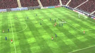 Arsenal vs Chelsea - Falcao Goal 18 minutes