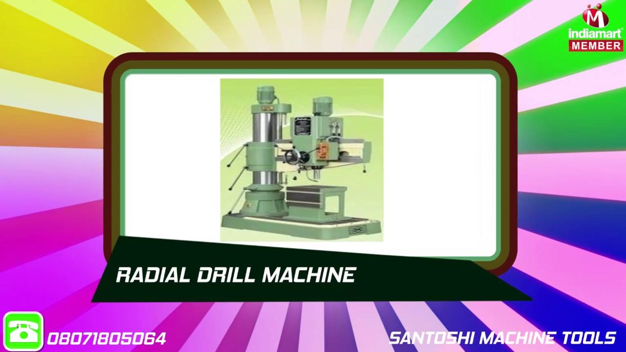 Industrial Drilling Machine by Santoshi Machine Tools, Rajkot