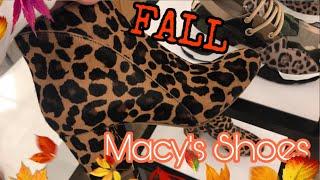 Macy's Shoes Shopping | Macy's Fall Shoes 2019