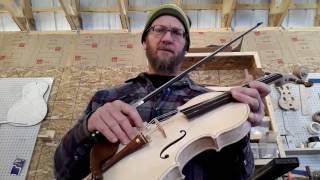 Building an Oak Fiddle part 1