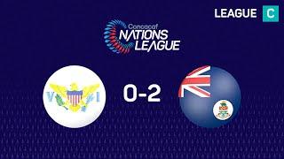 Highlights #CNL: US Virgin Islands 0 - 2 Cayman Islands