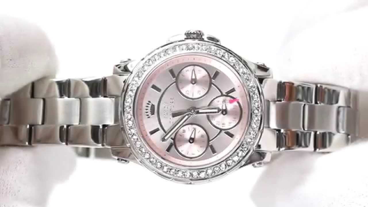 db47440b24dfe4 Hands On With The Women's Juicy Couture Pedigree Watch 1901104. Creative  Watch Co