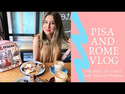 A Week In Italy   Arriving In Pisa And Rome Vlog   Italian Food And Sights
