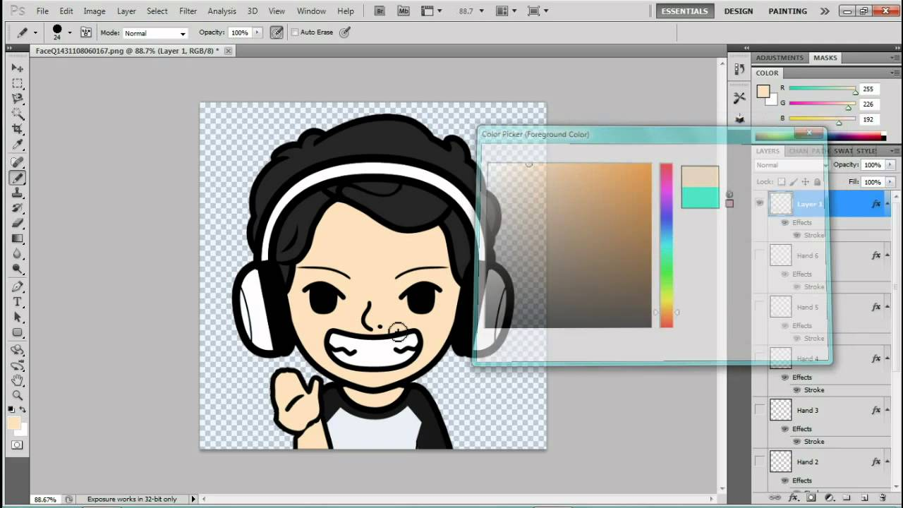 Tutorial - Cara membuat animasi di Photoshop CS5 - YouTube
