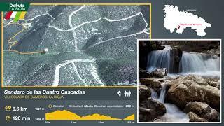 Sendero de las Cuatro Cascadas , Villoslada de Cameros. Disfruta La Rioja