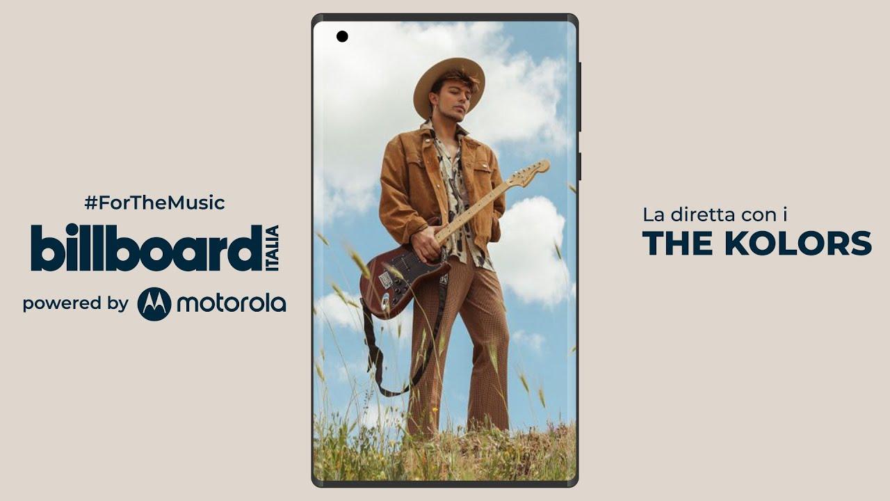Billboard Calling #ForTheMusic: in diretta con The Kolors