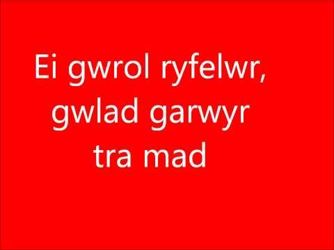 Welsh National Anthem + lyrics