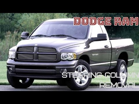 Dodge ram steering column removal and dollar saving tips!!! Step-by-step DIY repair for $50!!!!!