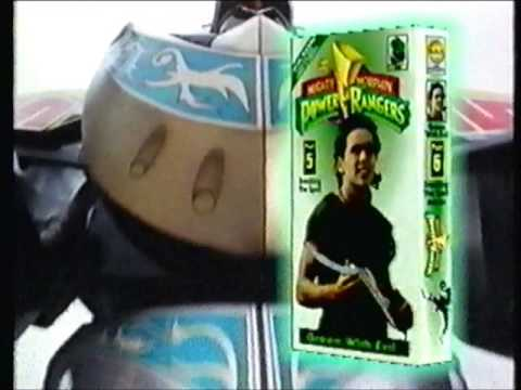 Mighty Morphin Power Rangers -  VHS Ad (13 Power Rangers Home Videos)