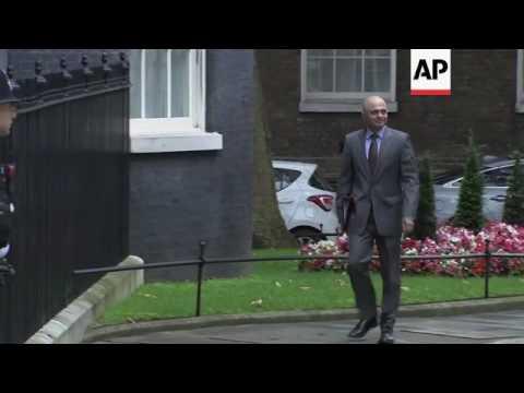 Raw: UK Cabinet Meets After Referendum Vote