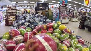Жизнь в Швеции. Поездка в супермаркет, сдаём бутылки.