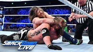 AJ Styles vs. Daniel Bryan - WWE Championship Match: SmackDown LIVE, Oct. 30, 2018