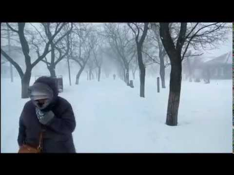 Зима в Болграде Одесской области, 29 декабря 2014 года