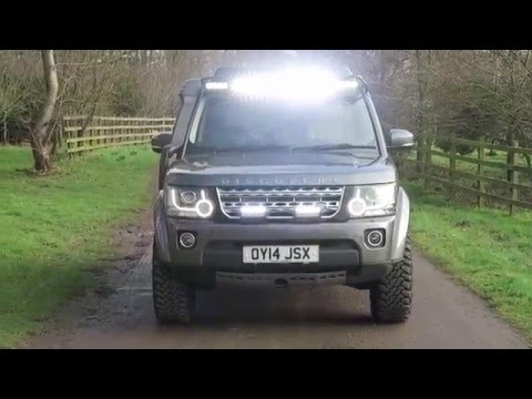 Prospeed Roof Ladder And Light Bar Land Rover And Range