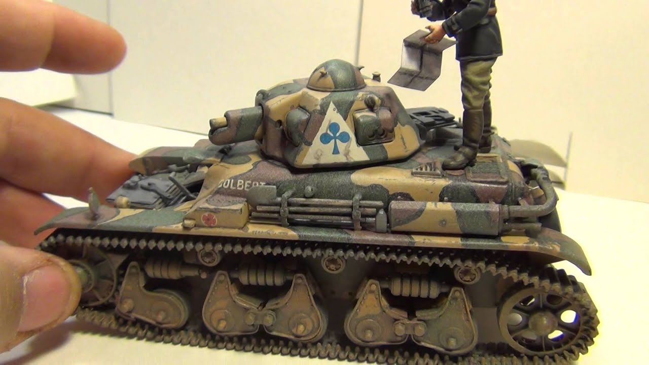 Work Bench Update R35 French Tank Youtube