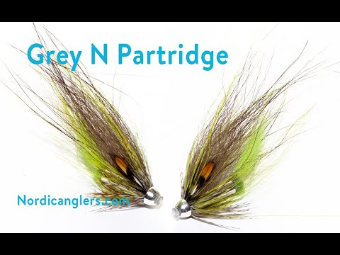 Salmon Fly Tying Lesson, Step By Step, How To Tie The: Grey And Fl. Yellow