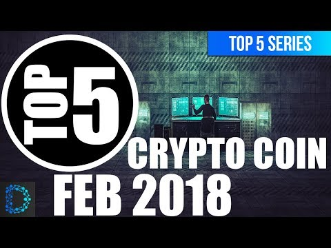 ⭐️Top 5 Best Crypto Coins to Look out for February 2018 | 🚀 Top 5 Crypto Videos | Best Picks | 🤑