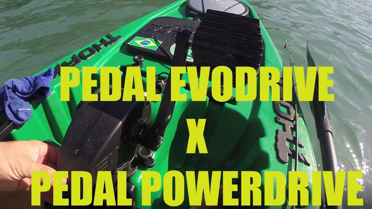 Pedal EVODRIVE x POWERDRIVE qual a diferença ?