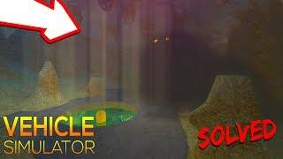 Secret Monster SOLVED | Vehicle Simulator | ROBLOX