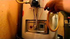 Hot Water Heater Pilot Light Won't Stay Lit or On - How to fix waterheater by testing Thermocouple