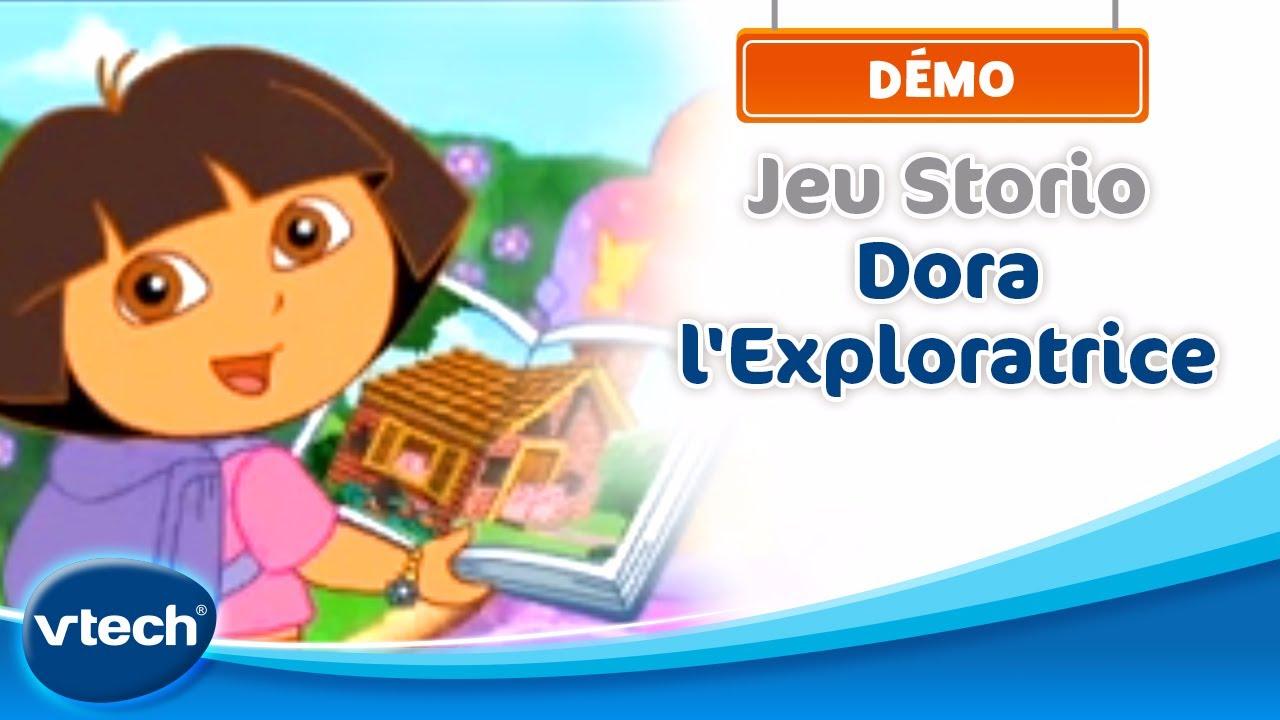 Dora l'Exploratrice : Démo Jeu Storio | VTech - YouTube