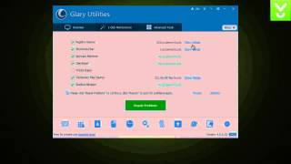 GlaryUtilities - Fix, speed up, maintain, and protect your PC - Download Video Previews