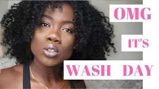 MY WASH DAY ROUTINE 2017 | Natural Hair | OhhNaaa